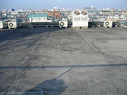 屋上防水工事例大阪府01