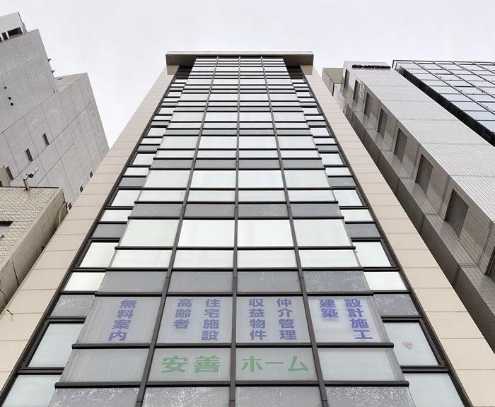 大阪市天王寺区のビルで外壁塗装