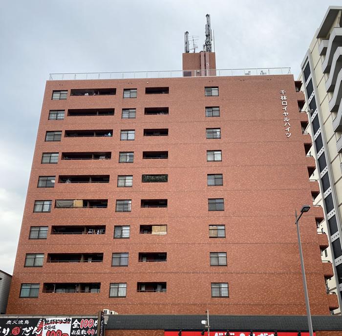 大阪市旭区のマンションで大規模修繕工事