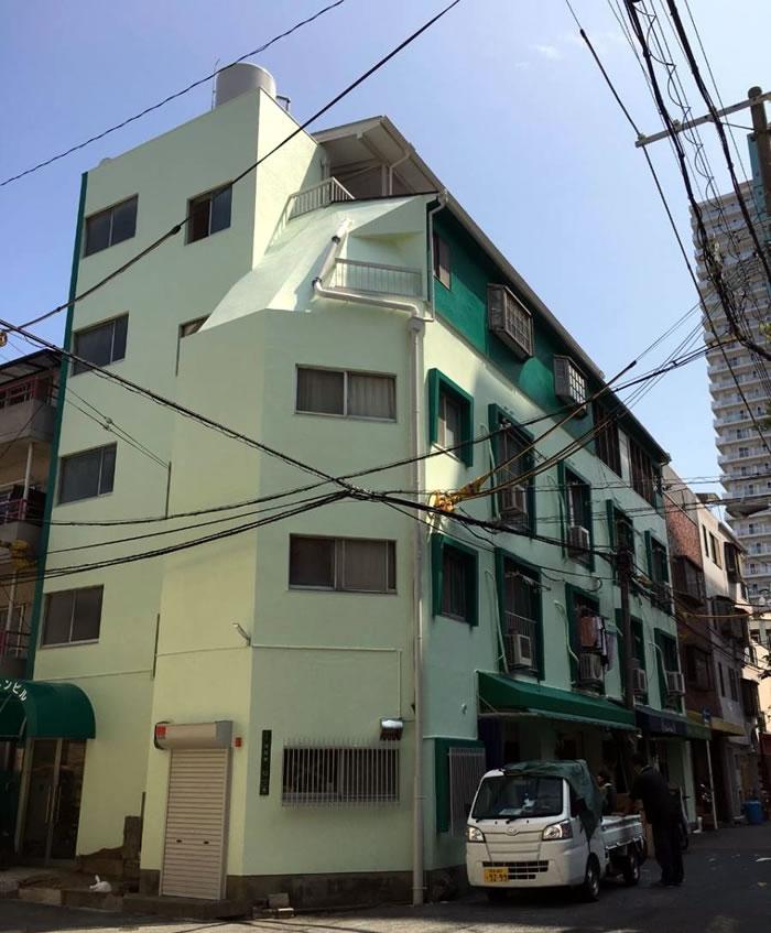 枚方市のマンションで外壁塗装・大規模修繕工事